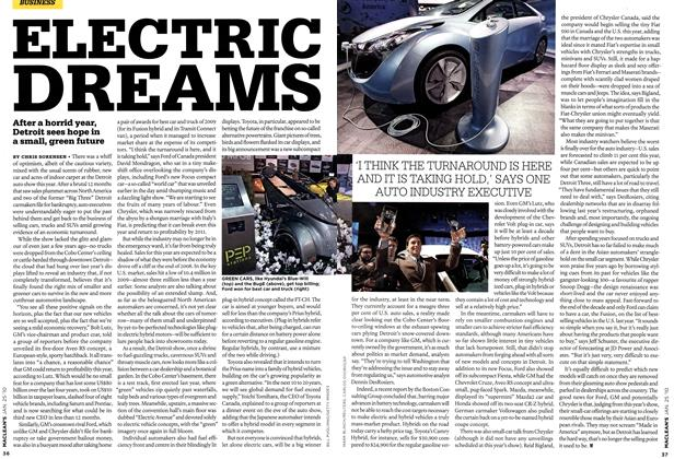 Article Preview: ELECTRIC DREAMS, JAN. 25th 2010 | Maclean's