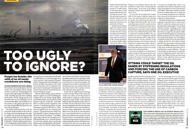 Article Preview: TOO UGLY TO IGNORE?, JAN. 25th 2010 | Maclean's