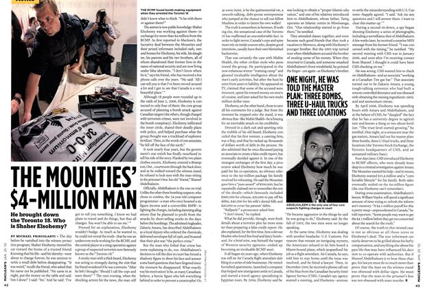 Article Preview: THE MOUNTIES' $4-MILLION MAN, JAN. 25th 2010 2010 | Maclean's