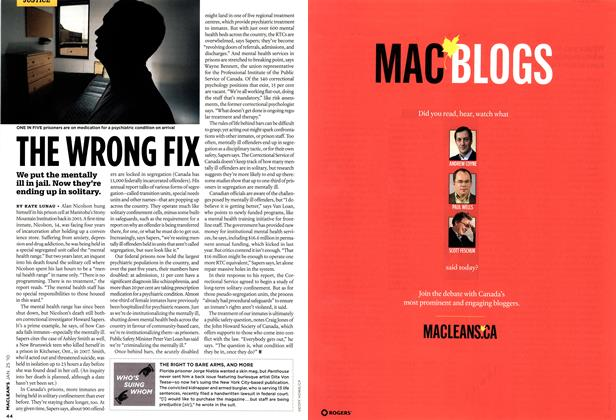 Article Preview: WHO'S SUING WHOM, JAN. 25th 2010 | Maclean's