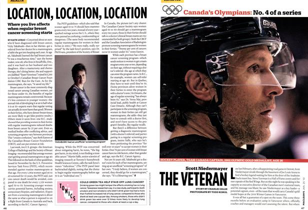 Article Preview: Scott Niedermayer THE VETERAN, JAN. 25th 2010 | Maclean's
