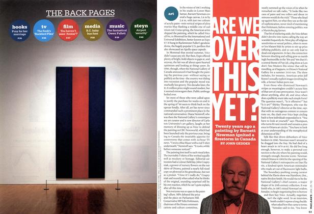 Article Preview: ARE WE OVER THIS YET?, JAN. 25th 2010 | Maclean's