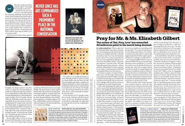 Article Preview: Pray for Mr. & Ms. Elizabeth Gilbert, JAN. 25th 2010 | Maclean's
