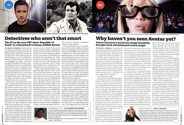 Article Preview: Detectives who aren't that smart, JAN. 25th 2010 | Maclean's