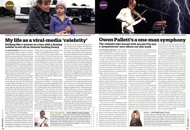 Article Preview: Owen Pallett's a one-man symphony, JAN. 25th 2010 2010 | Maclean's