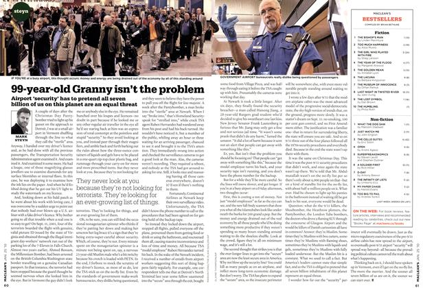 Article Preview: 99-year-old Granny isn't the problem, JAN. 25th 2010 2010 | Maclean's