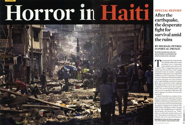 Article Preview: Horror in Haiti, FEB. 1st 2010 | Maclean's