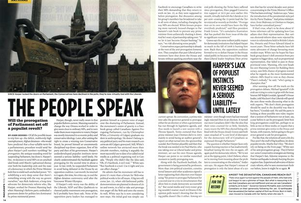 Article Preview: THE PEOPLE SPEAK, FEB. 1st 2010 | Maclean's