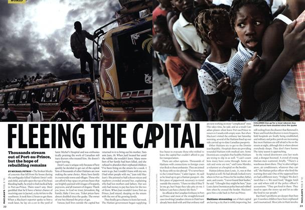 Article Preview: FLEEING THE CAPITAL, FEB. 8th 2010 | Maclean's