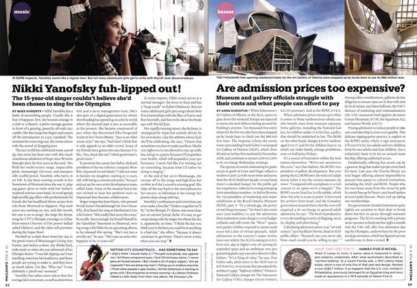 Article Preview: Are admission prices too expensive?, FEB. 8th 2010 | Maclean's