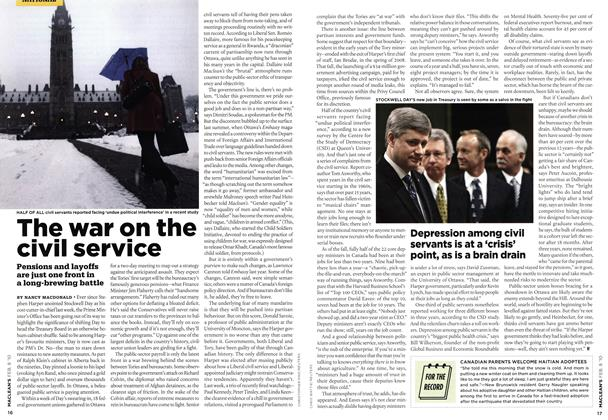 Article Preview: FOR THE RECORD, FEB. 8th 2010 2010 | Maclean's