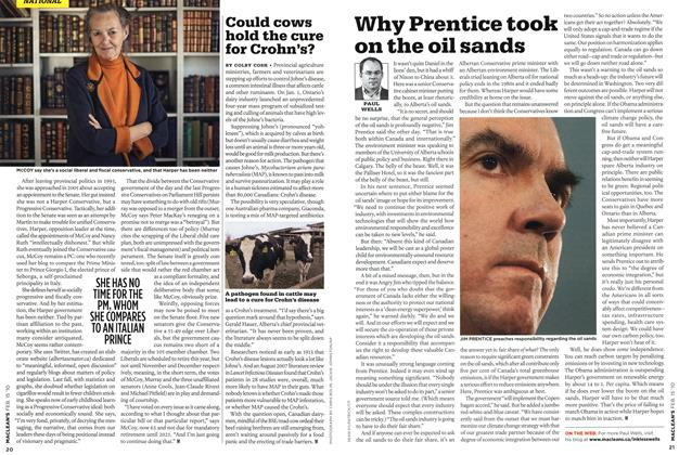 Article Preview: Why Prentice took on the oil sands, FEB. 15th 2010 | Maclean's