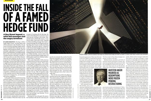 Article Preview: INSIDE THE FALL OF A FAMED HEDGE FUND, FEB. 15th 2010 | Maclean's