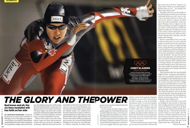 Article Preview: THE GLORY AND THE POWER, FEB. 15th 2010 | Maclean's