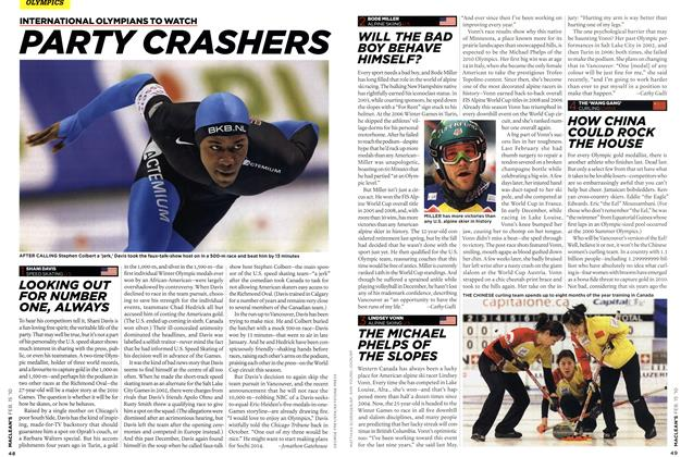 Article Preview: PARTY CRASHERS, FEB. 15th 2010 | Maclean's