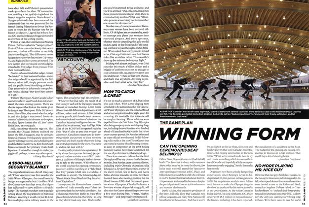 Article Preview: WINNING FORM, FEB. 15th 2010 | Maclean's