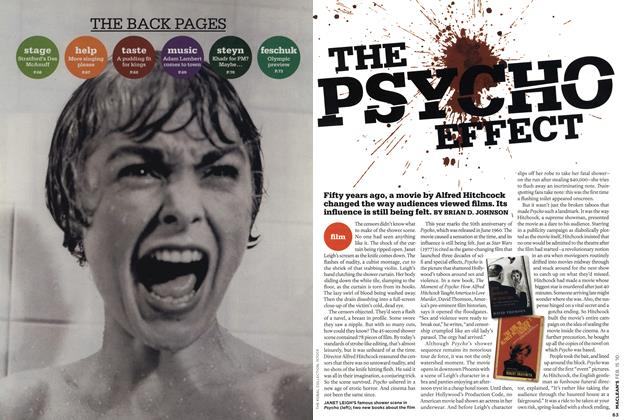 Article Preview: THE PSYCHO EFFECT, FEB. 15th 2010 | Maclean's