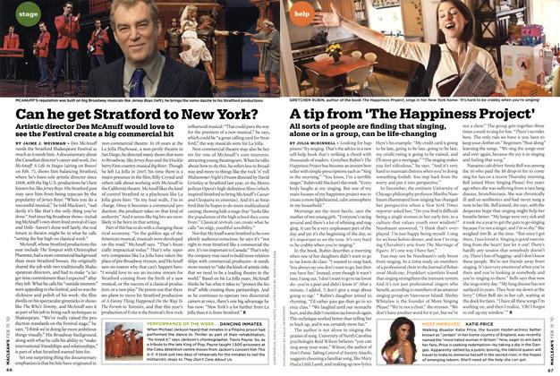 Article Preview: Can he get Stratford to New York?, FEB. 15th 2010 | Maclean's