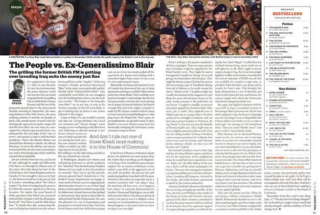Article Preview: The People vs. Ex-Generalissimo Blair, FEB. 15th 2010 2010 | Maclean's