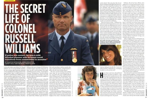 Article Preview: THE SECRET LIFE OF COLONEL RUSSELL WILLIAMS, FEB. 22nd 2010 2010 | Maclean's