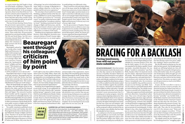 Article Preview: BRACING FOR A BACKLASH, FEB. 22nd 2010 | Maclean's