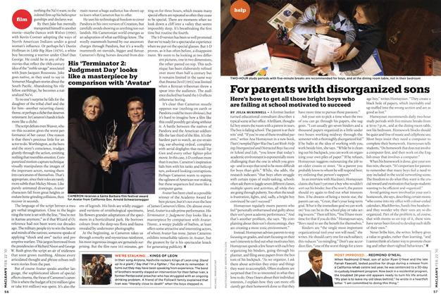 Article Preview: For parents with disorganized sons, FEB. 22nd 2010 2010 | Maclean's