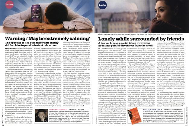 Article Preview: Warning: 'May be extremely calming', FEB. 22nd 2010 | Maclean's