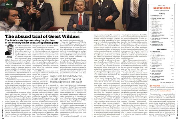 Article Preview: The absurd trial of Geert Wilders, FEB. 22nd 2010 | Maclean's