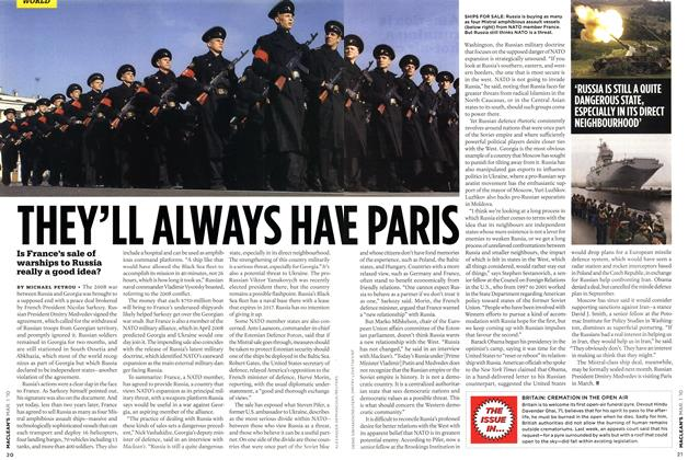 Article Preview: THEY'LL ALWAYS HAVE PARIS, MAR. 1st 2010 | Maclean's