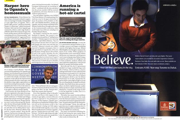 Article Preview: America is running a hot-air cartel, MAR. 1st 2010 | Maclean's