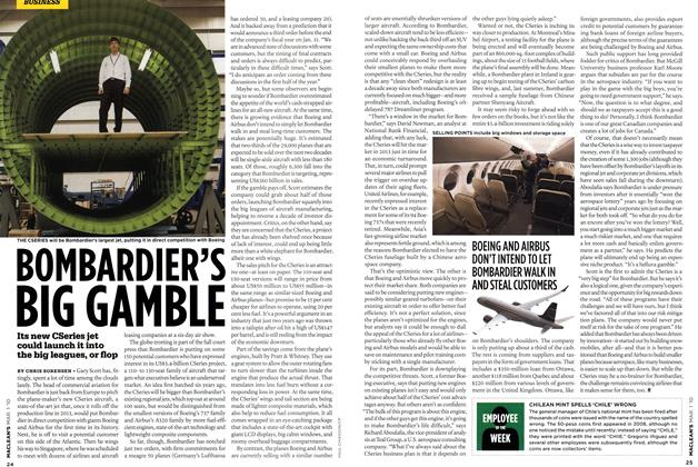 Article Preview: BOMBARDIER'S BIG GAMBLE, MAR. 1st 2010 | Maclean's