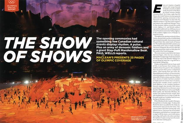 Article Preview: THE SHOW OF SHOWS, MAR. 1st 2010 2010 | Maclean's
