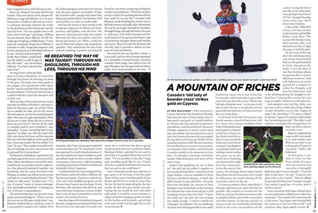 Article Preview: A MOUNTAIN OF RICHES, MAR. 1st 2010 | Maclean's