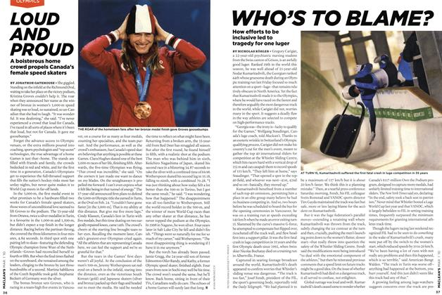 Article Preview: WHO'S TO BLAME?, MAR. 1st 2010 2010 | Maclean's