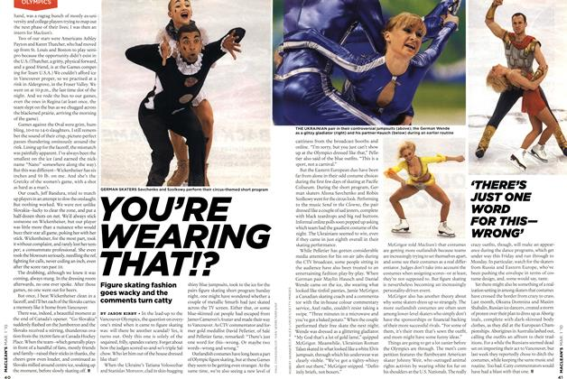 Article Preview: YOU'RE WEARING THAT!?, MAR. 1st 2010 | Maclean's