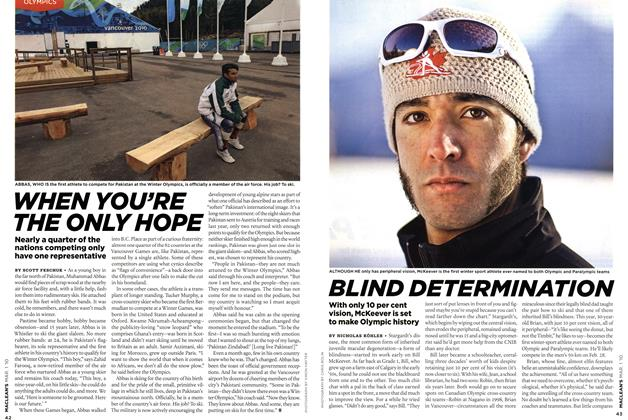 Article Preview: BLIND DETERMINATION, MAR. 1st 2010 2010 | Maclean's