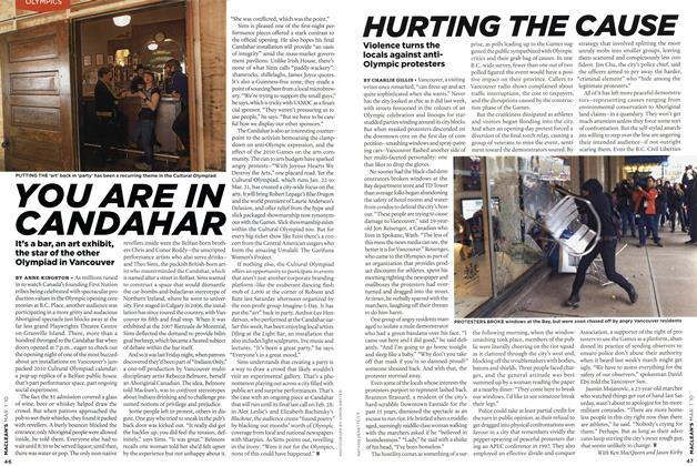 Article Preview: HURTING THE CAUSE, MAR. 1st 2010 2010 | Maclean's