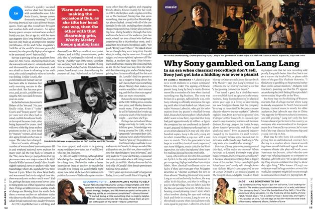 Article Preview: Why Sony gambled on Lang Lang, MAR. 1st 2010 2010 | Maclean's