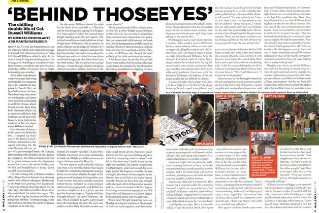 Article Preview: 'BEHIND THOSE EYES', MAR. 1st 2010 2010 | Maclean's