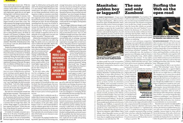 Article Preview: Manitoba: golden boy or laggard?, MAR. 8th 2010 | Maclean's