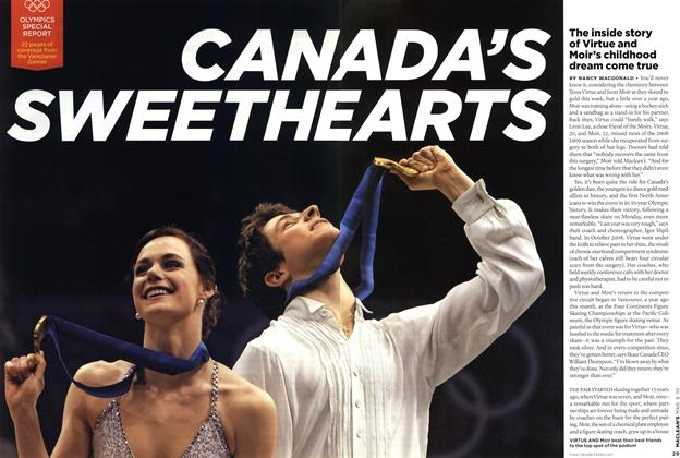 Article Preview: CANADA'S SWEETHEARTS, MAR. 8th 2010 | Maclean's