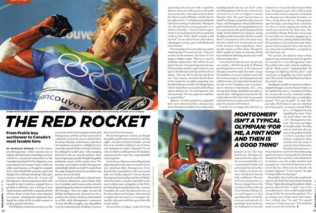 Article Preview: THE RED ROCKET, MAR. 8th 2010 | Maclean's