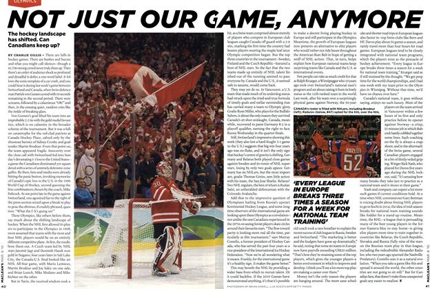 Article Preview: NOT JUST OUR GAME ANYMORE, MAR. 8th 2010 | Maclean's