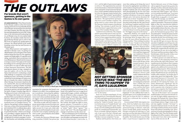 Article Preview: THE OUTLAWS, MAR. 8th 2010 | Maclean's