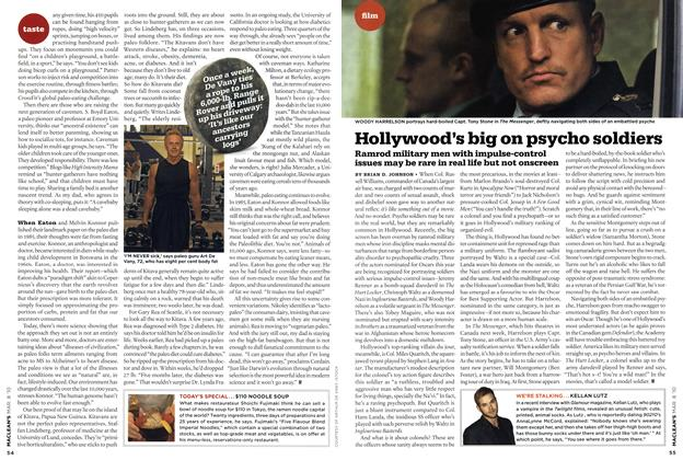 Article Preview: Hollywood's big on psycho soldiers, MAR. 8th 2010 2010 | Maclean's