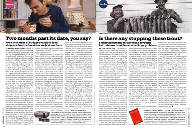 Article Preview: Is there any stopping these trout?, MAR. 8th 2010 | Maclean's