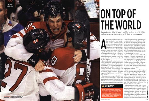Article Preview: ON TOP OF THE WORLD, MAR. 15th 2010 2010 | Maclean's