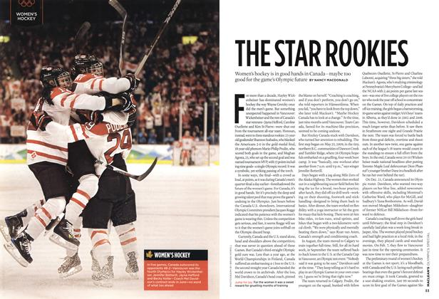 Article Preview: THE STAR ROOKIES, MAR. 15th 2010 2010 | Maclean's