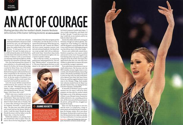 Article Preview: AN ACT OF COURAGE, MAR. 15th 2010 2010 | Maclean's