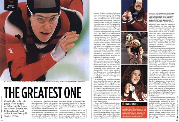Article Preview: THE GREATEST ONE, MAR. 15th 2010 2010 | Maclean's